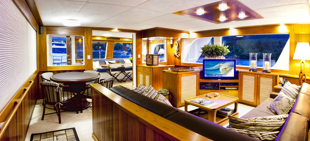 Interior do trawler